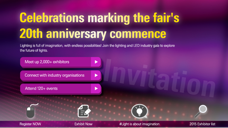 Join the fair to explore lighting for life