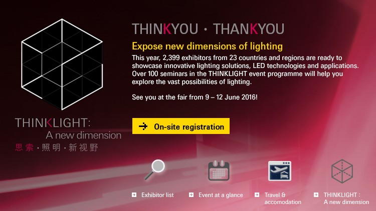 Expose new dimensions of lighting