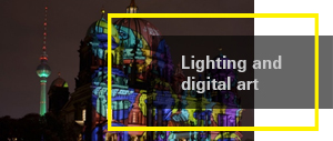 Lighting and  digital art