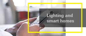Lighting and smart homes