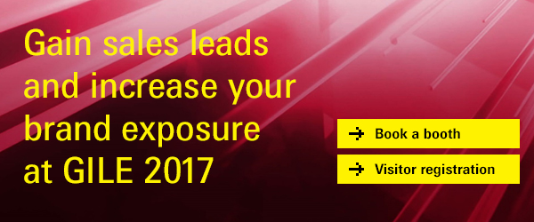 Gain sales leads and increase your brand exposure at GILE 2017