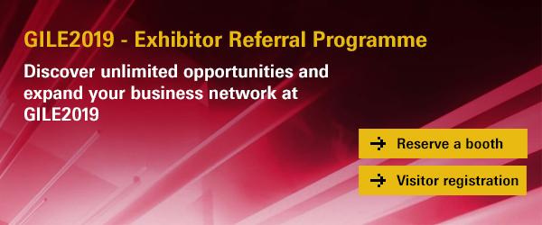 GILE2019 - Exhibitor Referral Programme