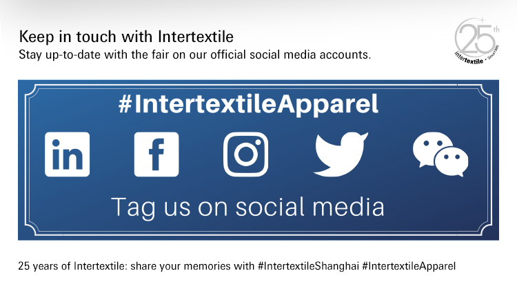 Keep in touch with Intertextile