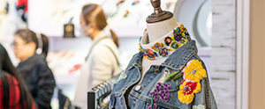 Categorised product zones at Intertextile Apparel