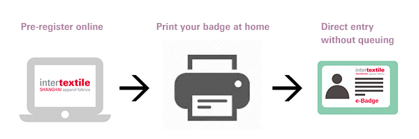 Get your e-badge now