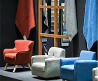 Worldwide upholstery fabrics under the same roof