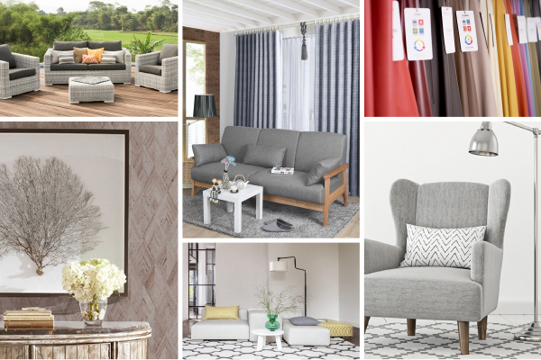 Upholstery, Curtains & Window, Wallcovering highlights