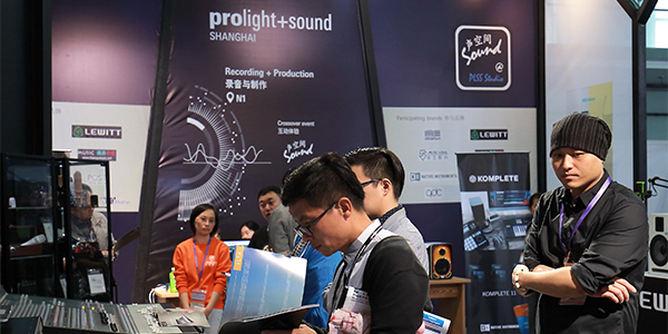 Recording & Production Zone occupies entire hall to echo strong market demand