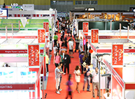 Three major exhibition zones