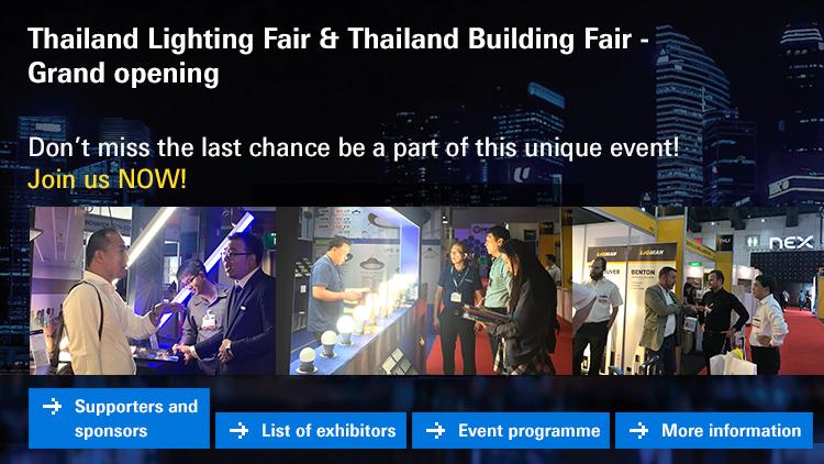 Thailand Lighting Fair & Thailand Building Fair -  Grand opening